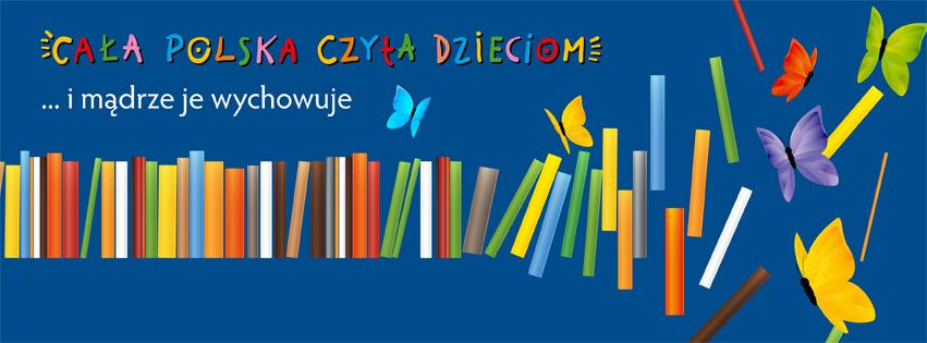 Znalezione obrazy dla zapytania cała polska czyta dzieciom logo